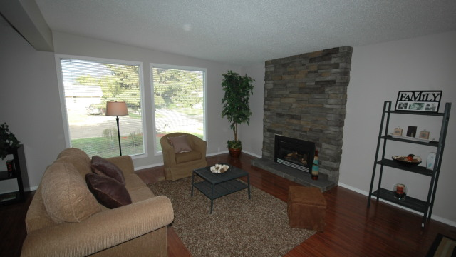 2. Living Room Fireplace